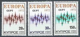 1972 EUROPA CIPRO MNH ** - EU8824 - 1972