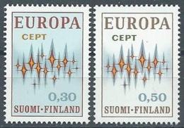 1972 EUROPA FINLANDIA MNH ** - EU8824 - Europa-CEPT
