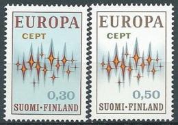 1972 EUROPA FINLANDIA MNH ** - EV-2 - 1972