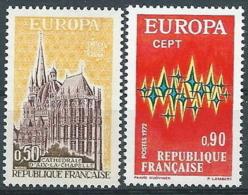 1972 EUROPA FRANCIA MNH ** - EV-2 - 1972