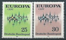 1972 EUROPA GERMANIA MNH ** - EV-2 - 1972