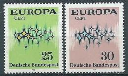 1972 EUROPA GERMANIA MNH ** - EV-3 - Europa-CEPT