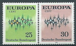 1972 EUROPA GERMANIA MNH ** - EV-4 - Europa-CEPT