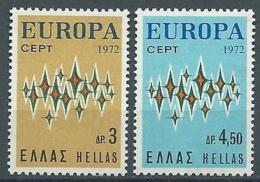 1972 EUROPA GRECIA MNH ** - EU8824 - 1972
