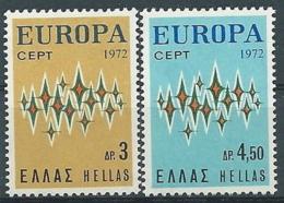 1972 EUROPA GRECIA MNH ** - EV - 1972