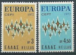 1972 EUROPA GRECIA MNH ** - EV-4 - 1972