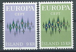 1972 EUROPA ISLANDA MNH ** - EU8824 - 1972
