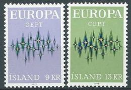 1972 EUROPA ISLANDA MNH ** - EV-2 - Europa-CEPT