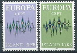 1972 EUROPA ISLANDA MNH ** - EV-3 - 1972