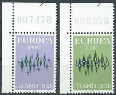 1972 EUROPA ISLANDA MNH ** - EV-4 - Europa-CEPT