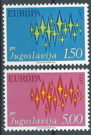 1972 EUROPA JUGOSLAVIA MNH ** - EU8824 - 1972