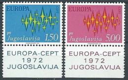 1972 EUROPA JUGOSLAVIA MNH ** - EV-2 - 1972