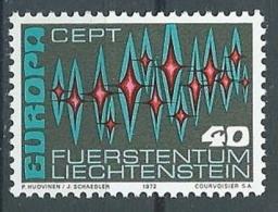 1972 EUROPA LIECHTENSTEIN MNH ** - EU8824 - Europa-CEPT