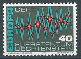1972 EUROPA LIECHTENSTEIN MNH ** - EV - 1972