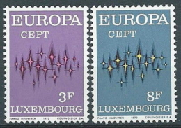1972 EUROPA LUSSEMBURGO MNH ** - EV-3 - Europa-CEPT