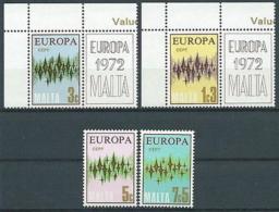 1972 EUROPA MALTA MNH ** - EV-3 - Europa-CEPT