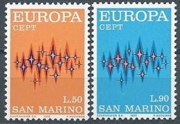 1972 EUROPA SAN MARINO MNH ** - EU8824 - Europa-CEPT