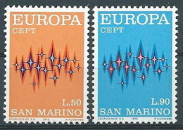 1972 EUROPA SAN MARINO MNH ** - EV-2 - Europa-CEPT