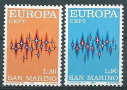 1972 EUROPA SAN MARINO MNH ** - EV-3 - Europa-CEPT