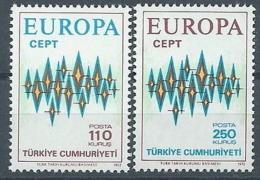 1972 EUROPA TURCHIA MNH ** - EU8824 - 1972
