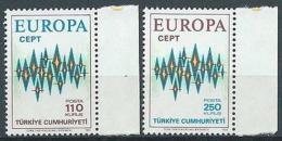 1972 EUROPA TURCHIA MNH ** - EV - Europa-CEPT