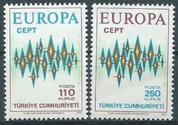1972 EUROPA TURCHIA MNH ** - EV-3 - Europa-CEPT