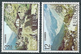 1977 EUROPA ANDORRA SPAGNOLA MNH ** - EV - 1977