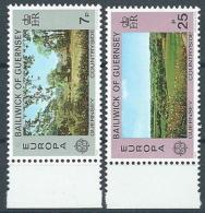 1977 EUROPA GUERNSEY MNH ** - EV - Europa-CEPT