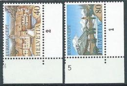 1977 EUROPA SVIZZERA MNH ** - EV-3 - 1977