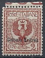 1903 ERITREA AQUILA 2 CENT LUSSO MNH ** - RR12661 - Eritrea