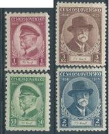 1935 CECOSLOVACCHIA TOMAS GARRIGUE MASARYK MH * - CZ014 - Cecoslovacchia