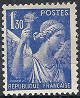 1939-41 FRANCIA IRIS 1,30 F MH * - FR658 - 1939-44 Iris