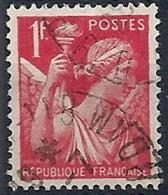 1939-41 FRANCIA USATO IRIS 1 F - FR658 - 1939-44 Iris