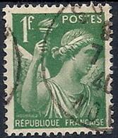 1939-41 FRANCIA USATO IRIS 1 F - FR658-2 - 1939-44 Iris