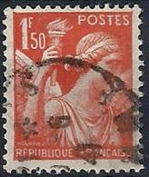 1939-41 FRANCIA USATO IRIS 1,50 F - FR658 - 1939-44 Iris