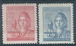 1945 CECOSLOVACCHIA CONGRESSO MONDIALE DEGLI STUDENTI MH * - CZ001 - Cecoslovacchia