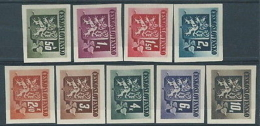 1945 CECOSLOVACCHIA STEMMA E FRONDA DI TIGLIO MH * - CZ008 - Cecoslovacchia
