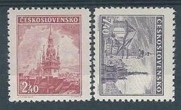 1946 CECOSLOVACCHIA PANORAMI MH * - CZ008 - Cecoslovacchia