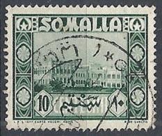 1950 SOMALIA AFIS USATO SOGGETTI AFRICANI 10 CENT - RR12469 - Somalië (AFIS)