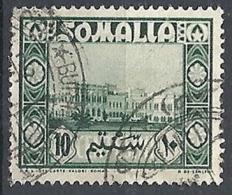 1950 SOMALIA AFIS USATO SOGGETTI AFRICANI 10 CENT - RR12469-4 - Somalië (AFIS)