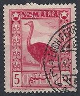1950 SOMALIA AFIS USATO SOGGETTI AFRICANI 5 CENT - RR12468-4 - Somalië (AFIS)