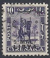 1951 LIBIA REGNO EMISSIONE PER LA TRIPOLITANIA USATO 5 M - RR12474 - Libia