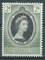 1953 JAMAICA INCORONAZIONE DI ELISABETTA II MNH ** - GB002 - Giamaica (1962-...)
