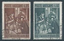 1956 VATICANO USATO S. IGNAZIO DI LOYOLA - VTU062 - Oblitérés