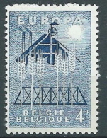 1957 EUROPA BELGIO 4 F MNH ** - EV - Europa-CEPT