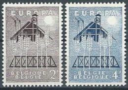 1957 EUROPA BELGIO MNH ** - EV-2 - Europa-CEPT