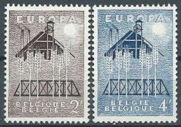 1957 EUROPA BELGIO MNH ** - EV-3 - Europa-CEPT