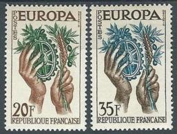1957 EUROPA FRANCIA MH * - EV-2 - Europa-CEPT