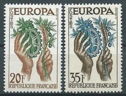 1957 EUROPA FRANCIA MNH ** - EV-3 - Europa-CEPT