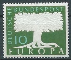 1957 EUROPA GERMANIA 10 P CON FILIGRANA MNH ** - EV-2 - Europa-CEPT